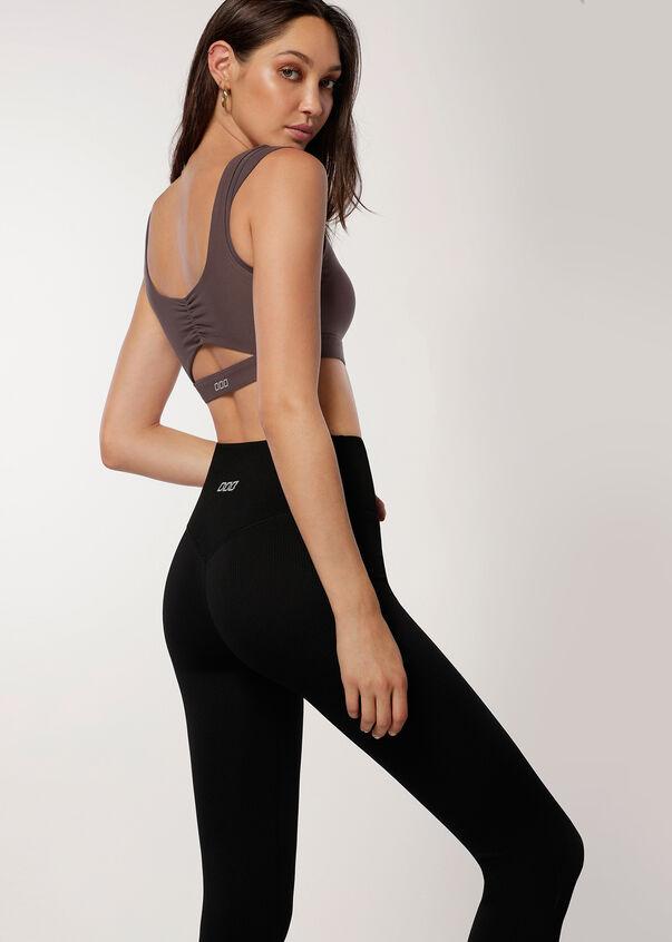 Everyday Seamless Full Length Leggings, Black, hi-res