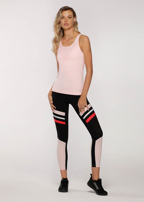 Sweat It Out Excel Tank, Pale Peony, hi-res