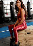 Radiate Full Length Leggings, Sepia, hi-res