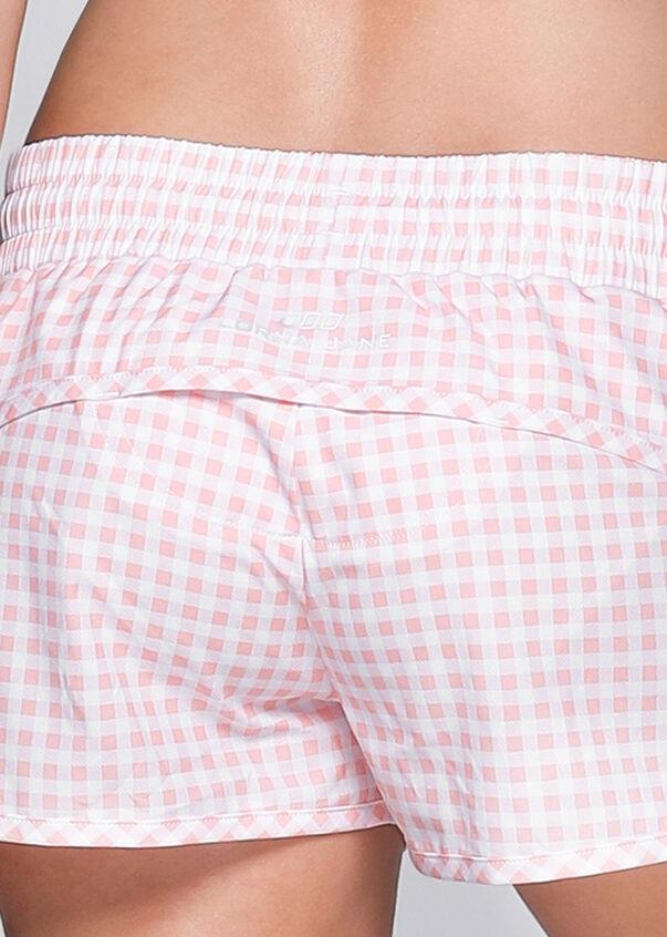 Cha Cha Run Short, Blushed Pink/white, hi-res