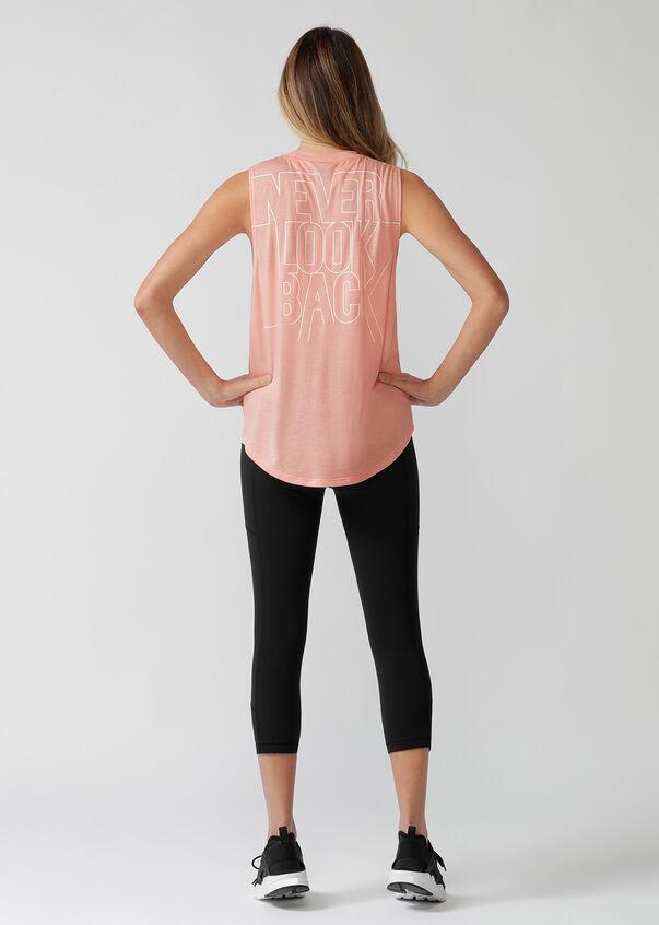 Never Look Back Muscle Tank, Ballerina, hi-res