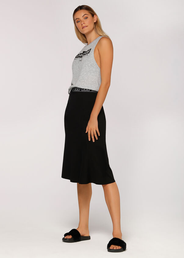 Laid Back Skirt, Black, hi-res