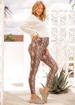 LJ Maternity Printed Ankle Biter Leggings, Viper Print, hi-res