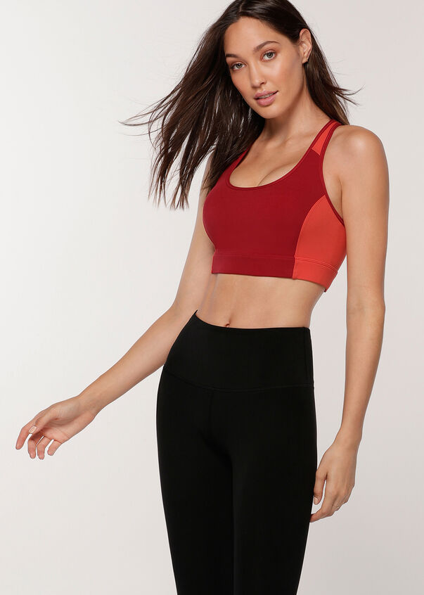 Core Candy Ultimate Sports Bra, Cherry Multi, hi-res
