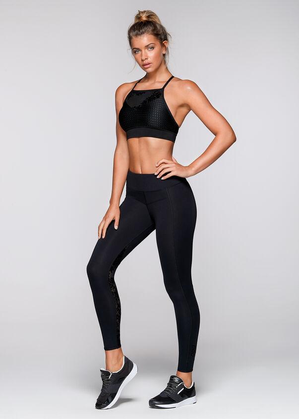 Defined Sports Bra, Black, hi-res