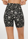 Daisy Days Bike Short, Daisy Days Print, hi-res