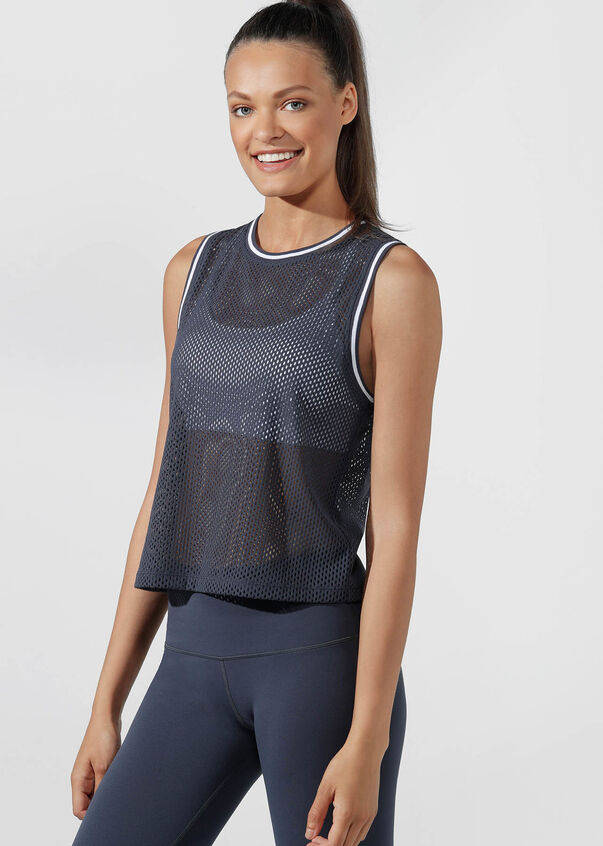 Heritage Luxe Active Tank, Canyon, hi-res