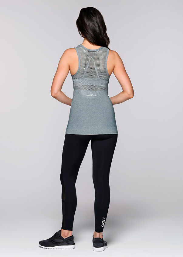 Barely There Seamless Tank, Sea Foam Marl, hi-res