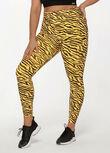 Amy Phone Pocket Ankle Biter Leggings, High Voltage Zebra Print, hi-res