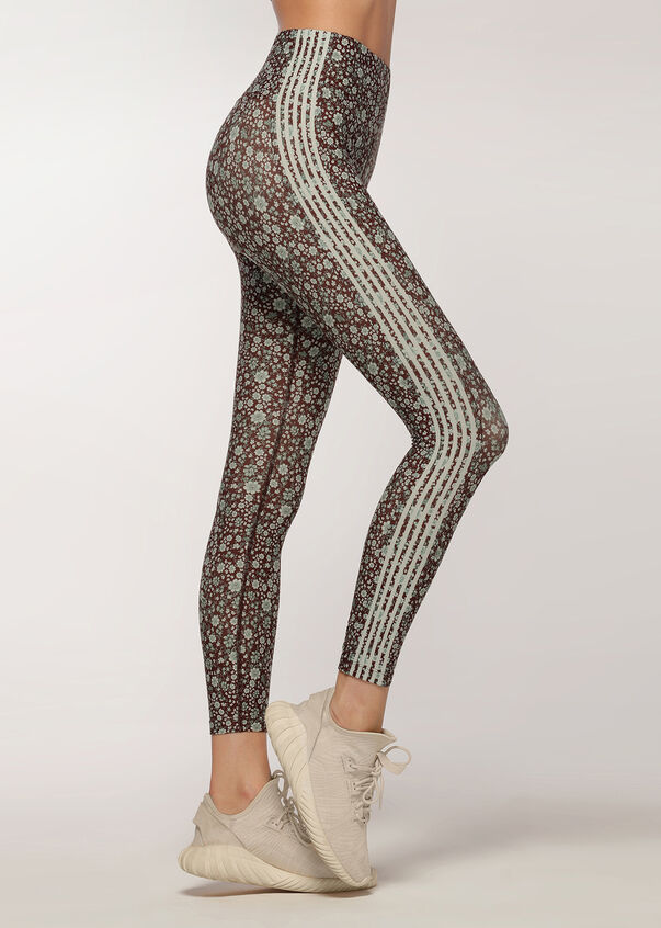 Wild Ditsy Core Ankle Biter Tight, Wild Ditsy Print, hi-res