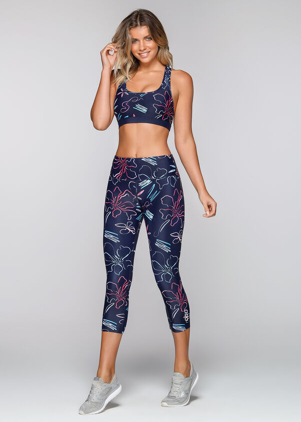 Osaka Bloom Sports Bra, Osaka Bloom Print, hi-res