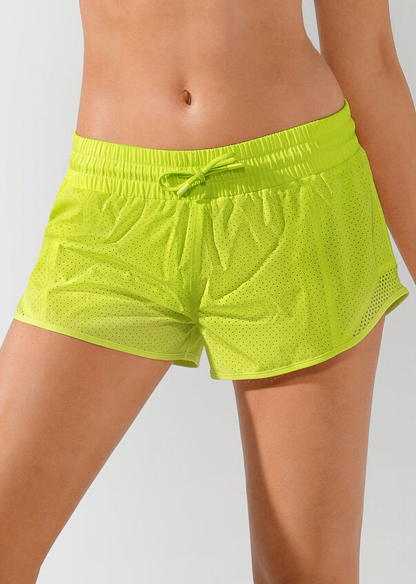 High Performance Run Short, Citrus Pop, hi-res