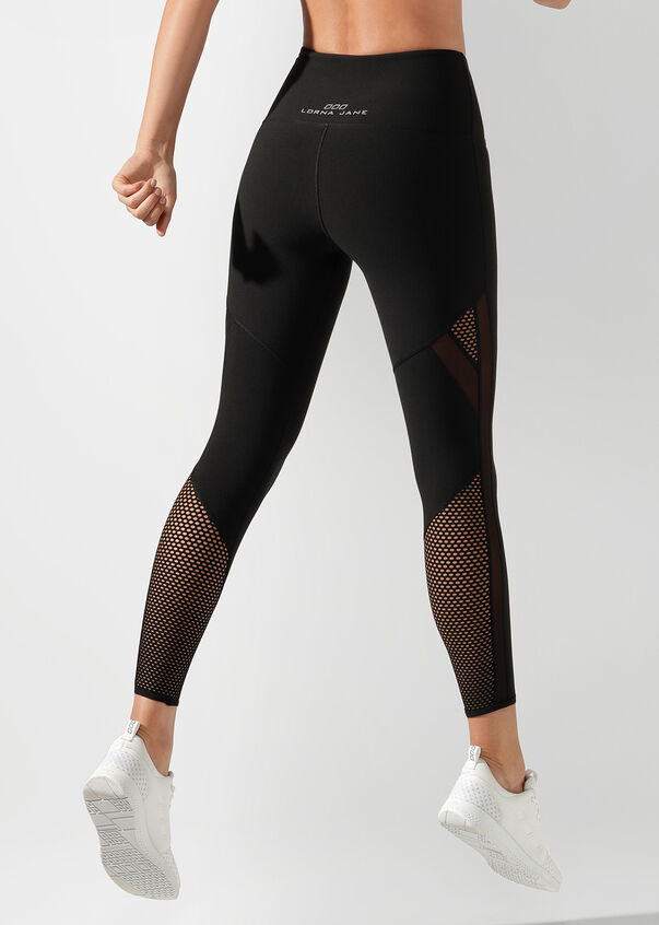 Fierce Booty Support Ankle Biter Tight, Black, hi-res
