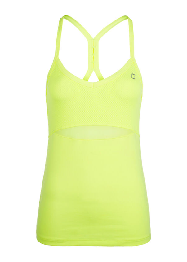 York Excel Tank, Neon Lemon Sorbet, hi-res