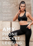 Amy Phone Pocket Leggings, Black, hi-res
