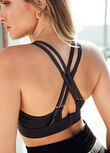 Enhanced Full Coverage Sports Bra, Slate, hi-res