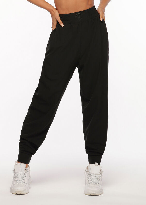 Launch Active Full Length Pant, Black, hi-res