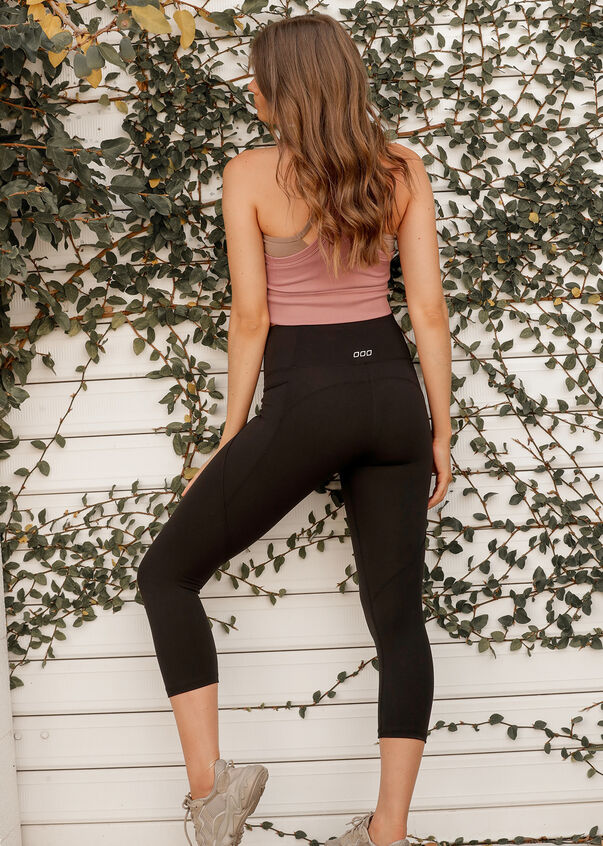 Amy Phone Pocket 7/8 Leggings, Black, hi-res
