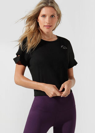 Agility Cropped Active Tee