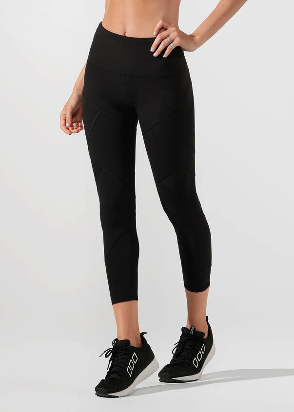 Grand Booty Support Ankle Biter Tight, Black, hi-res