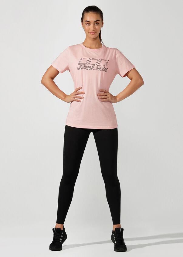 Active Nation Day T-Shirt, Whisper Pink, hi-res
