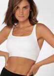 Ultra Fine Sports Bra, White, hi-res