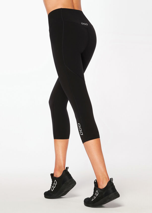 New Booty Support 7/8 Tight, Black, hi-res