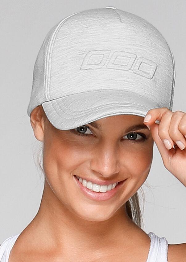 Icon Trucker Hat, Snow Grey Marl, hi-res