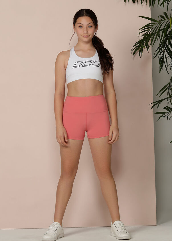 Fit N Fierce Short Tight - Tween, Quartz Pink, hi-res