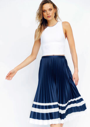 Luxe Yasmin Pleated Skirt