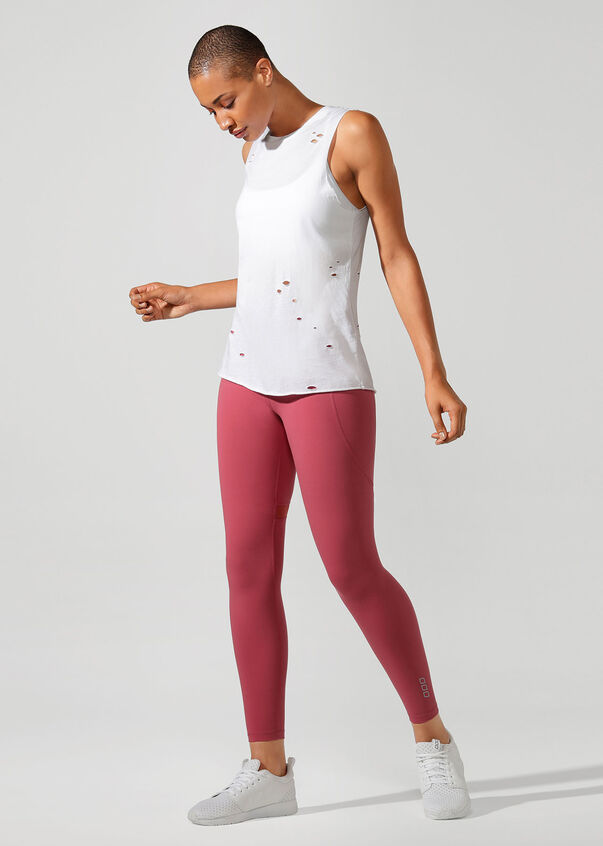 Comfort Muscle Tank, White, hi-res