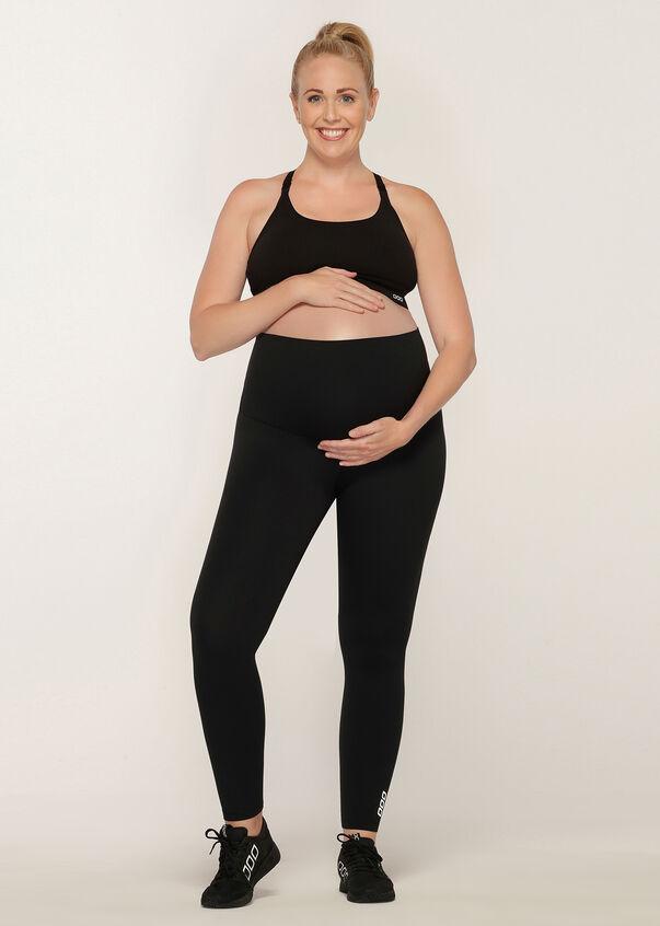 LJ Maternity Full Length Tight, Black, hi-res