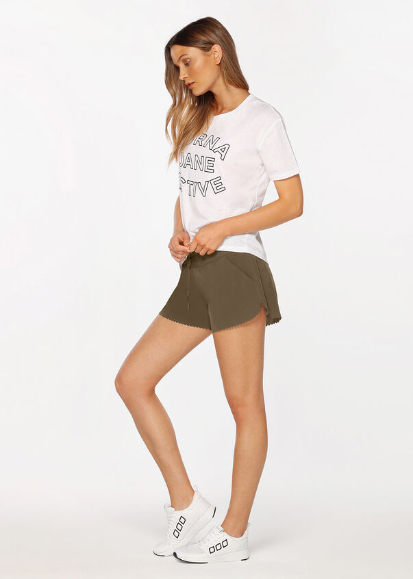 Breeze Lightweight Run Short, Pale Olive, hi-res