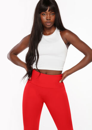 Cut Out Cropped Tank