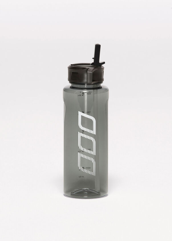 Iconic Water Bottle, Black, hi-res