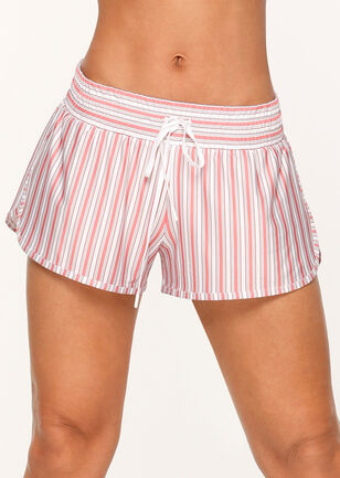 Vintage Stripe Run Short