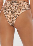 Jaguar Active Swim High Rise Brief, Jaguar Print, hi-res