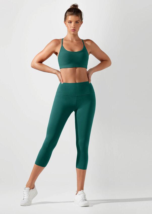 Pammy Sports Bra, Amazon Green, hi-res