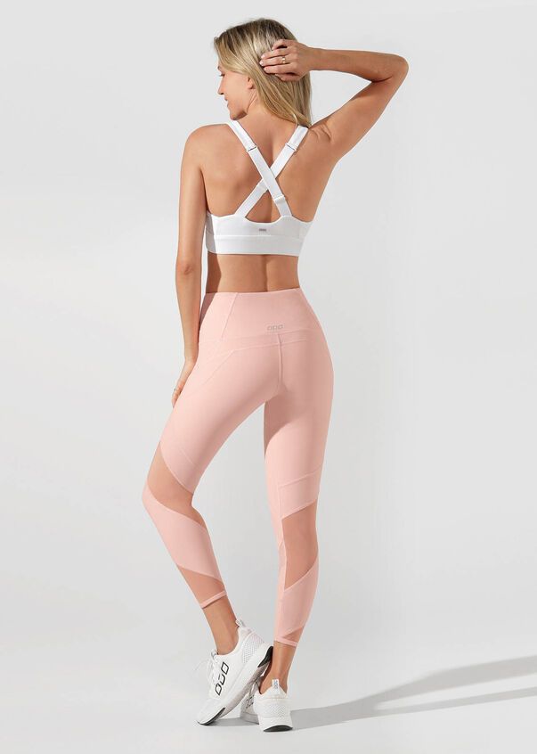 Grand Booty Support Ankle Biter Tight, Dusty Peach, hi-res