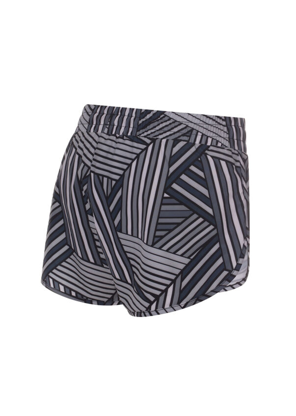 Graceful Run Short, Grey Multi Colour, hi-res