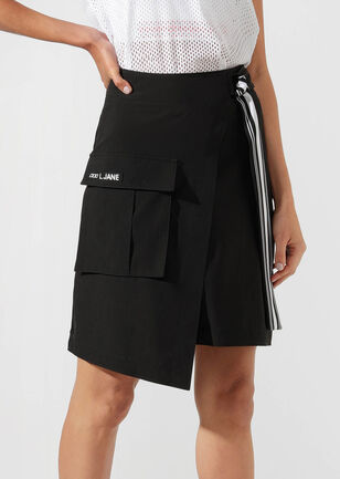Statement Wrap Skirt