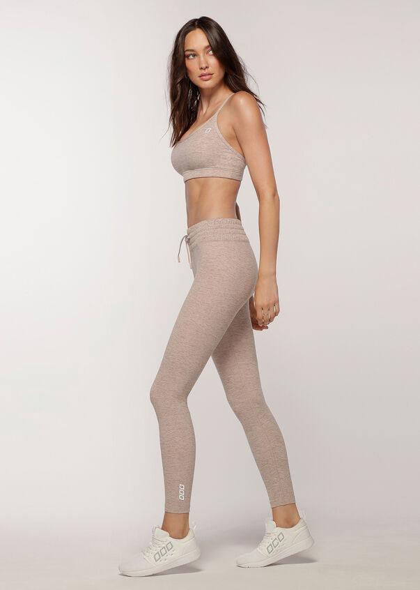 Comfy Full Length Leggings, Off White Marl, hi-res
