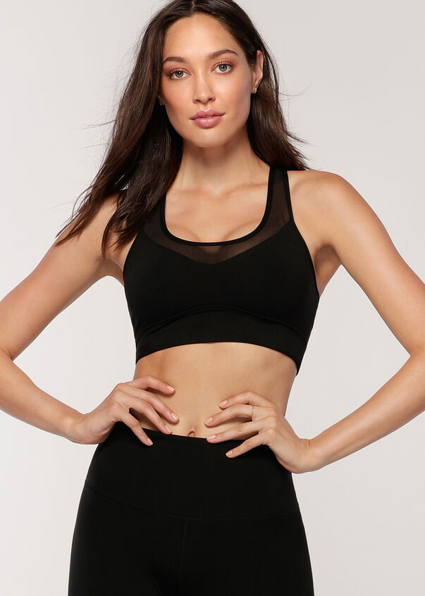 Dynamic Eco Maximum Support Bra, Black, hi-res