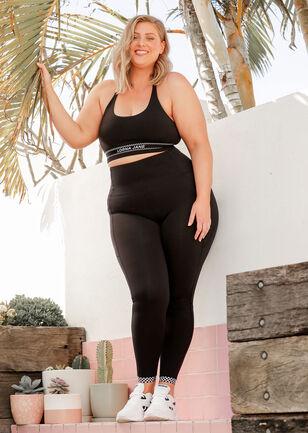 Checked Out Full Length Leggings