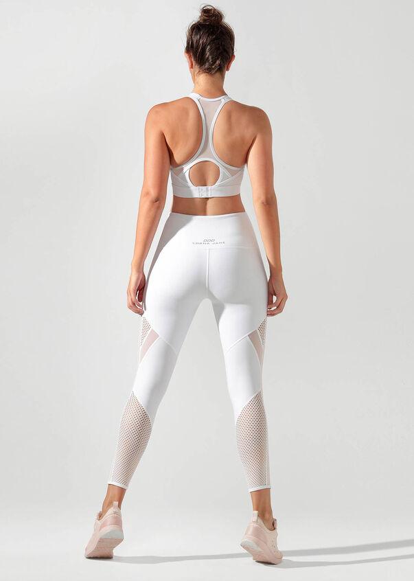 Iconic Sports Bra, White, hi-res